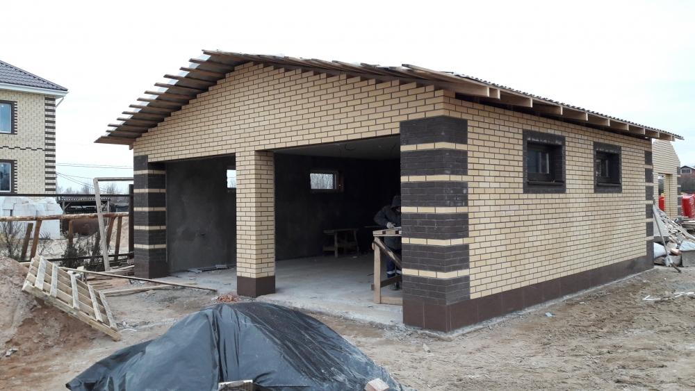 стоимость строительства гаража из газобетона